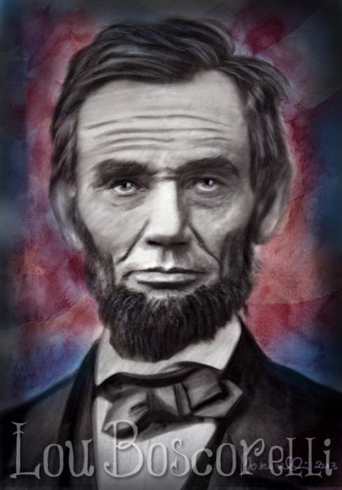 Abraham Lincoln by LouBoscorelli